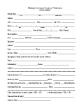 MSCT-New Patient Forms